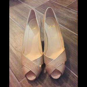 Christian Louboutin Heels luxury pink Shelley